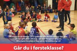 Nå blir det fotballag for 2013-barn på Haugerud!