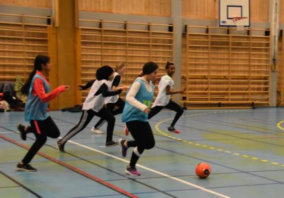 Futsalturnering for jenter