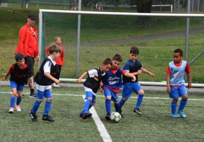 De spilte sitt livs første fotballkamp