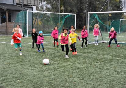 Nye fotballag for førsteklassinger
